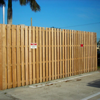 wood fencing florida