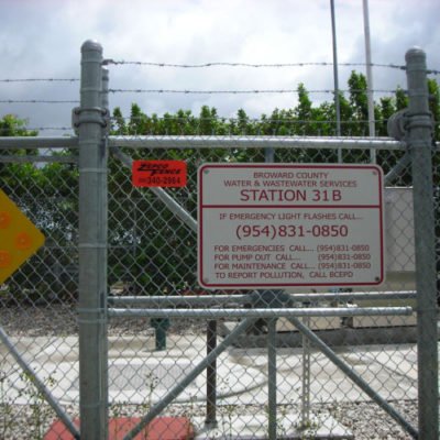 commercial chainlink fences