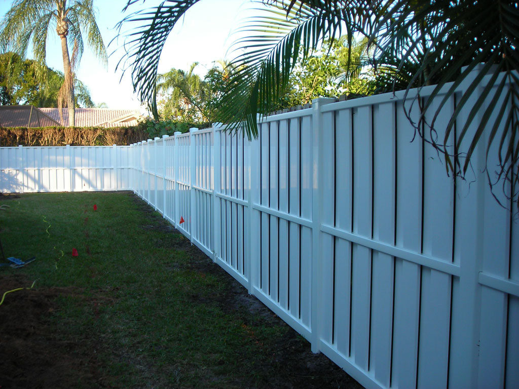 pvc fence company coral springs